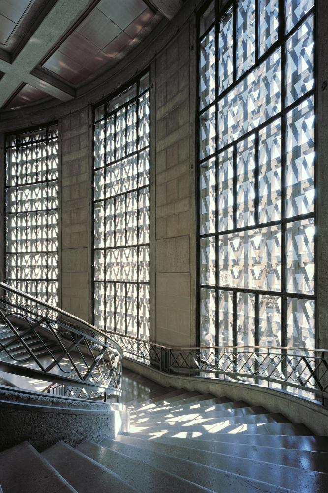 L'escalier monumental - chef d'oeuvre d'Auguste Perret ...