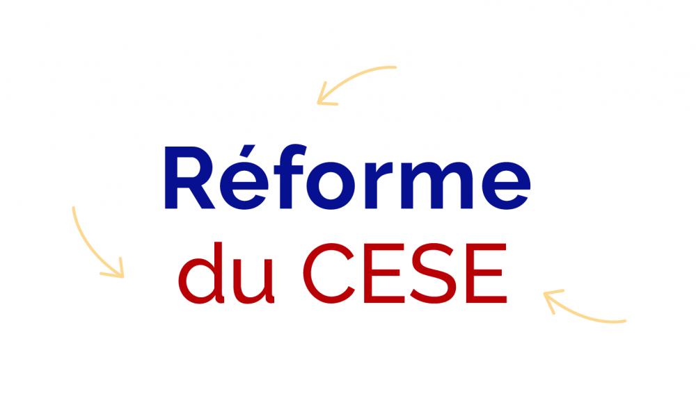 Réforme du CESE
