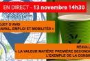 Revoir la séance plénière du 13 novembre