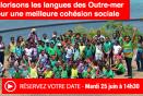 """Séance plénière """"Valorisons les langues des Outre-mer pour une meilleure cohésion sociale"""""""
