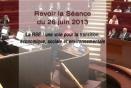 Séance du 26 juin 2013 : La RSE : une voie pour la transition, économique, sociale et environnementale