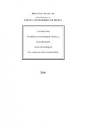 Contribution du Conseil économique et social au livre blanc sur une politique de communication européenne