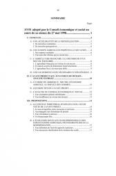 Avant-projet de loi d'orientation agricole