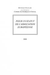Pour un statut de l'association européenne