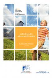La biodiversité : relever le défi sociétal