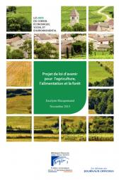 Projet de loi d'avenir pour l'agriculture, l'alimentation et la forêt