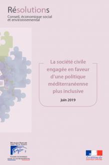 La société civile engagée en faveur d'une politique méditerranéenne plus inclusive