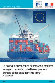 La politique européenne de transport maritime au regard des enjeux de développement durable et des engagements climat