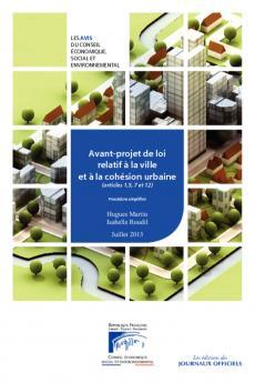 Avant-projet de loi relatif à la ville et à la cohésion urbaine