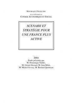 Scenarii et stratégie pour une France plus active