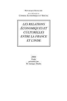Les relations économiques et culturelles entre la France et l'Inde