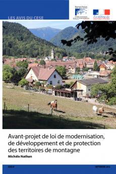 Avant-Projet de loi de modernisation, de développement et de protection des territoires de montagne