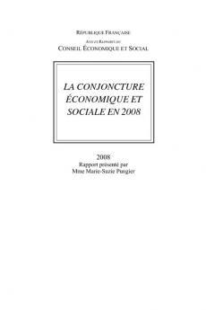 La conjoncture économique et sociale en 2008