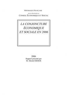 La conjoncture économique et sociale en 2006