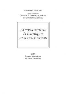 La conjoncture économique et sociale en 2009