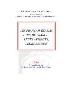 Les français établis hors de france : leurs attentes, leurs besoins