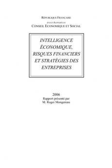 Intelligence économique, risques financiers et stratégies des entreprises