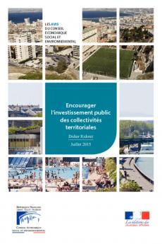 Encourager l'investissement public des collectivités territoriales