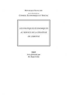 Les politiques économiques au service de la stratégie de Lisbonne