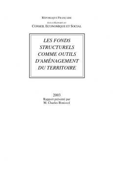 Les fonds structurels comme outils d'aménagement du territoire