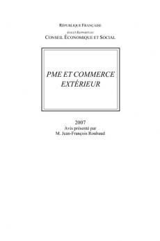 PME et commerce extérieur