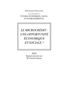 Le microcrédit : une opportunité économique et sociale ?