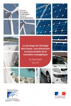 Le stockage de l'énergie électrique, une dimension incontournable de la transition énergétique