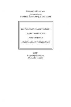 Les pôles de compétitivité : faire converger performance et dynamique territoriale