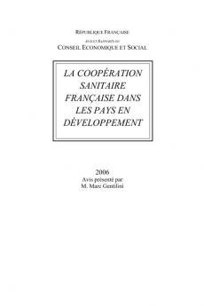 La coopération sanitaire française dans les pays en développement