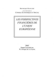 Les perspectives financières de l'Union européenne