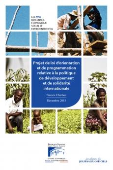 Projet de loi d'orientation et de programmation relative à la politique de développement et de solidarité internationale