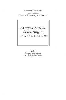 La conjoncture économique et sociale en 2007