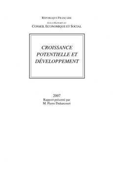Croissance potentiel et développement