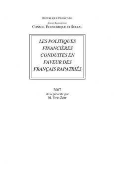 Les politiques financières conduites en faveur des français rapatriés