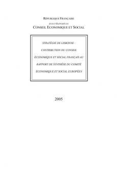 Stratégie de Lisbonne : contribution du Conseil économique et social français au rapport de synthèse  du Comité économique et social européen