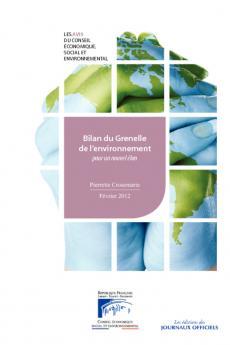 Bilan du Grenelle de l'environnement : pour un nouvel élan