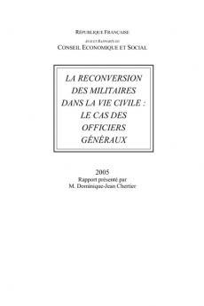 La reconversion des militaires dans la vie civile : le cas des officiers généraux