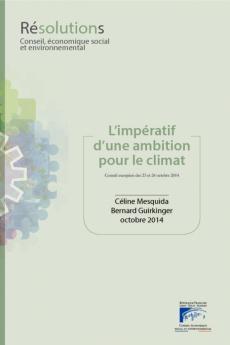 L'impératif d'une ambition pour le climat