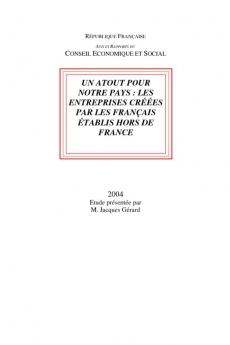 Un atout pour notre pays : les entreprises créées par les français établis hors de France