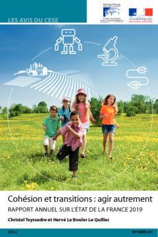 Cohésion et transitions  agir autrement  Rapport annuel sur l'état de la France 2019