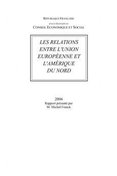 Les relations entre l'Union européenne et l'Amérique du Nord
