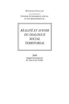 Réalité et avenir du dialogue social territorial