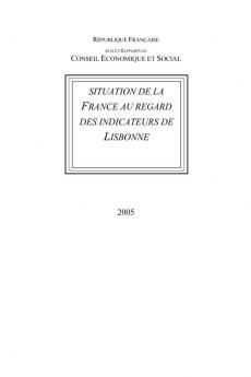 Situation de la France au regard des indicateurs de Lisbonne