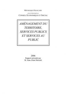 Aménagement du territoire, services publics et services au public