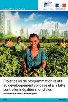 Projet de loi de programmation relatif au développement solidaire et à la lutte contre les inégalités mondiales