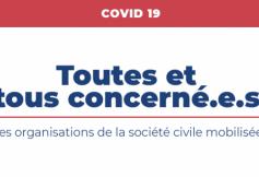 #Tousmobilisés : Face au Coronavirus, la mobilisation des organisations et membres du Conseil