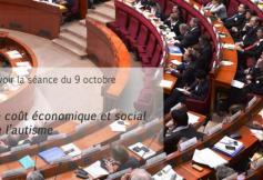 Revoir la séance plénière du 9 octobre 2012 : Le coût économique et social de l'autisme