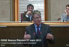 Séance Plénière du 22 mars 2011