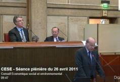Séance plénière du 26 avril 2011