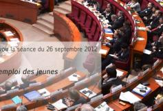 Revoir la séance du 26 septembre 2012 : L'emploi des jeunes